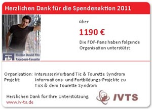 Spendenaktion FDF Fans